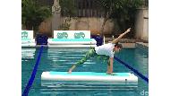 Sensasi Yoga di Atas Air, Lebih Menantang dan Melatih Fleksibelitas