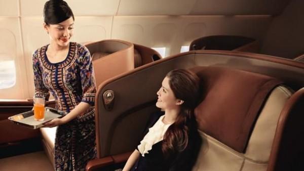 Kali ini Singapore Airlines dinobatkan sebagai maskapai dengan penerbangan kelas satu terbaik. (Singapore Airlines)