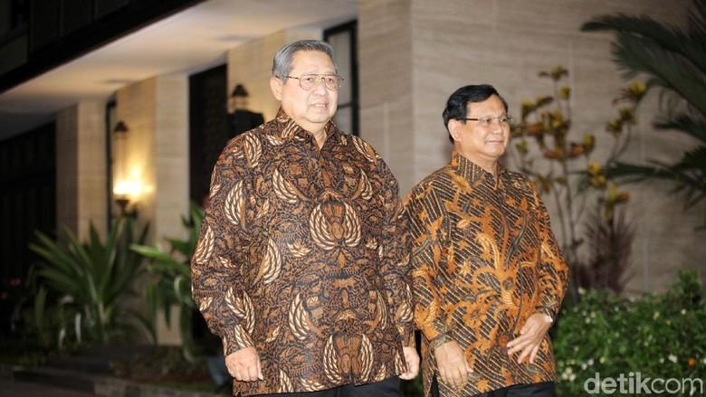 Demokrat Ungkap Respons SBY Lihat Deklarasi Prabowo-Sandi