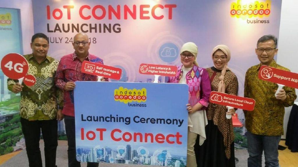 Sambut Revolusi Industri 4.0, Indosat Luncurkan IoT Connect