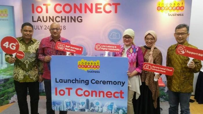 Foto: Peluncuran IoT Connect Indosat Ooredoo Business