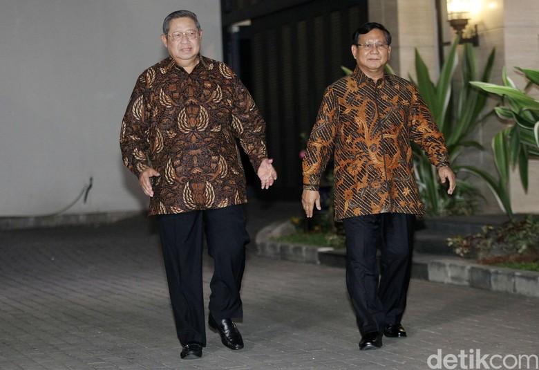 Balas Kunjungan Prabowo, SBY Sambangi Kertanegara Malam Ini