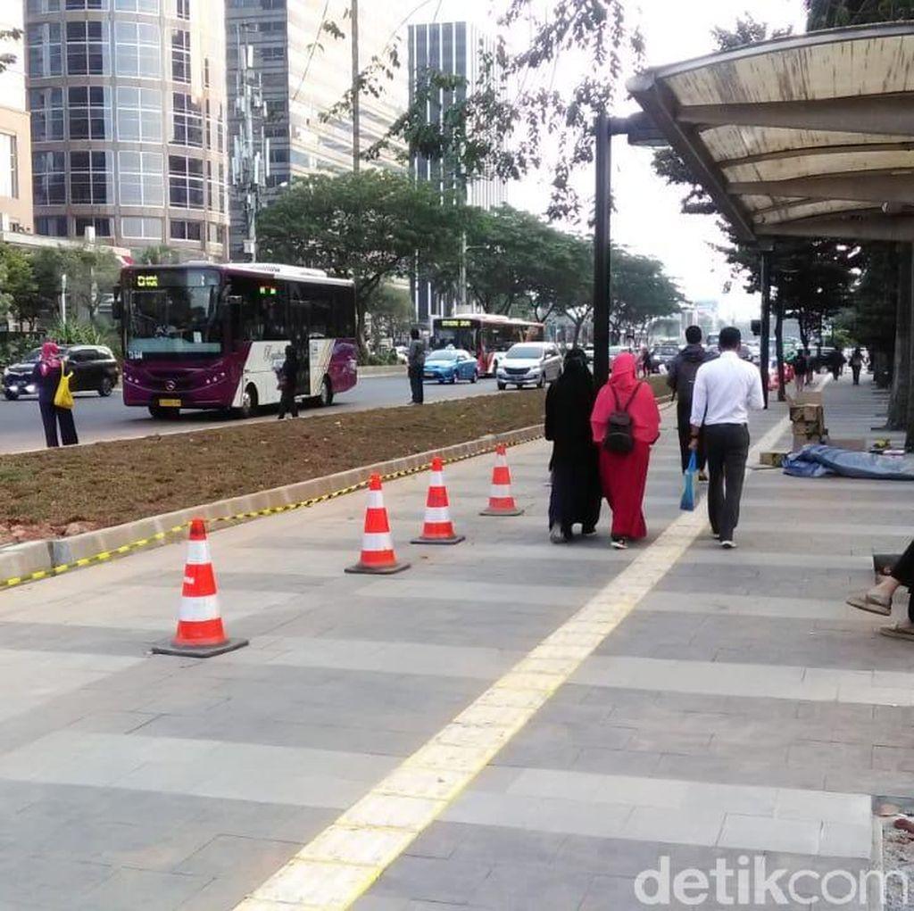 Keinginan Ahok Lebarkan Trotoar Jl Sudirman-Jl Thamrin 10 Meter
