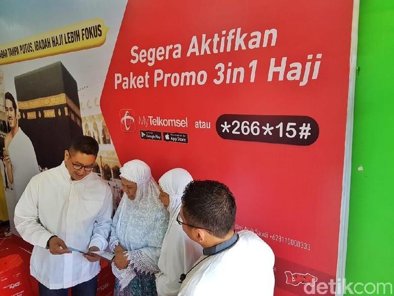 Permudah Komunikasi, Telkomsel Beri Kemudahan Paket Haji 3 in 1