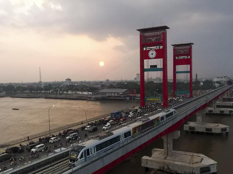 Sempat Mogok, LRT Palembang Kembali Beroperasi