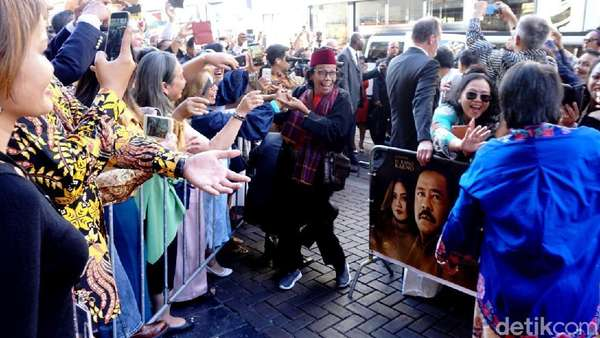 Melihat Keriuhan World Premier Si Doel The Movie di Belanda