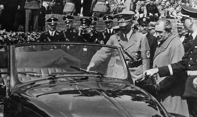 Saat Hitler Menjajal VW Beetle