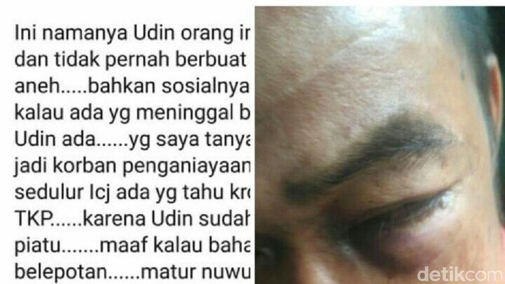 Udin, Tuna Wicara yang Dianiaya di Yogya, Begini Kronologinya