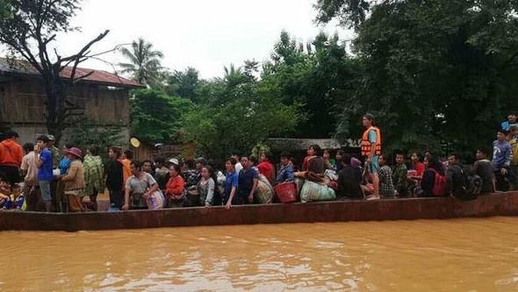 Video: Dampak Bendungan Jebol di Laos, Ratusan Orang Hilang