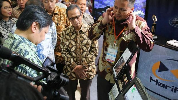 Hariff DTE Jadi Jawara Rintisan Teknologi Kemenperin