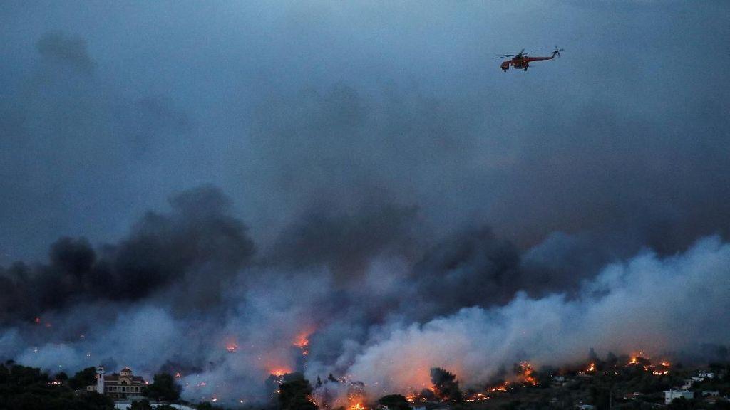 20 Orang Tewas Akibat Kebakaran Hutan di Yunani