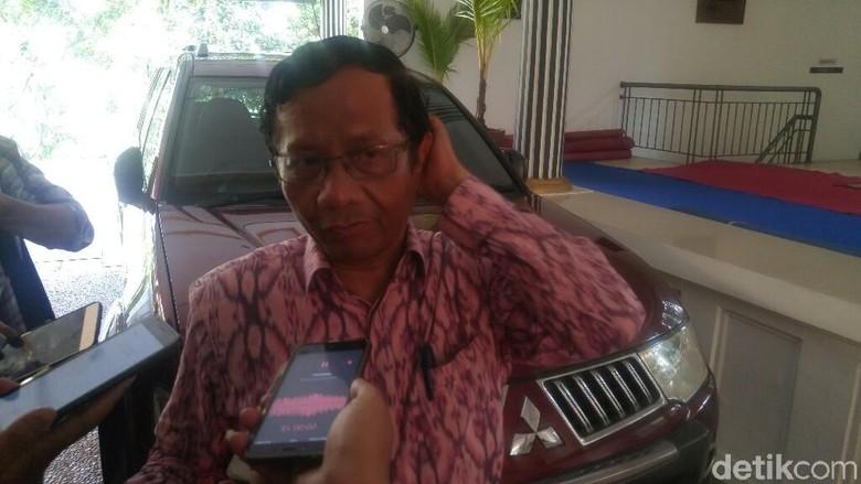 PPP: Mahfud Md Tetap Bersama Jokowi Meski Tolak Jadi Ketua Timses