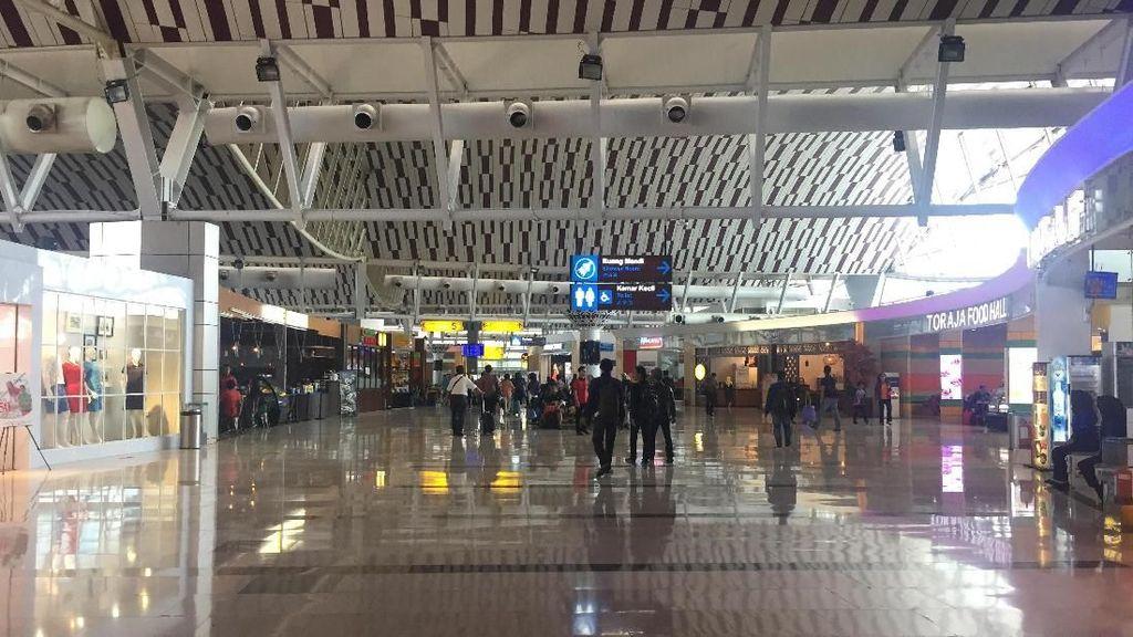 Transit di Bandara Hasanuddin, Berasa Nongkrong di Mal