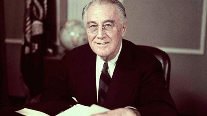Franklin D Roosevelt ialah presiden ke 32 Amerika Serikat yang pernah mengalami hipertensi semasa hidupnya, ia meninggal pada tanggal 12 April 1945. (Internet)