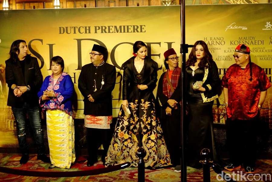 Melihat Keriuhan World Premier Si Doel The Movie di Belanda