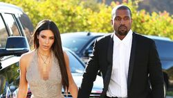 Kim Kardashian Ultah, Kanye West Beri Kejutan Rangkaian Bunga Raksasa