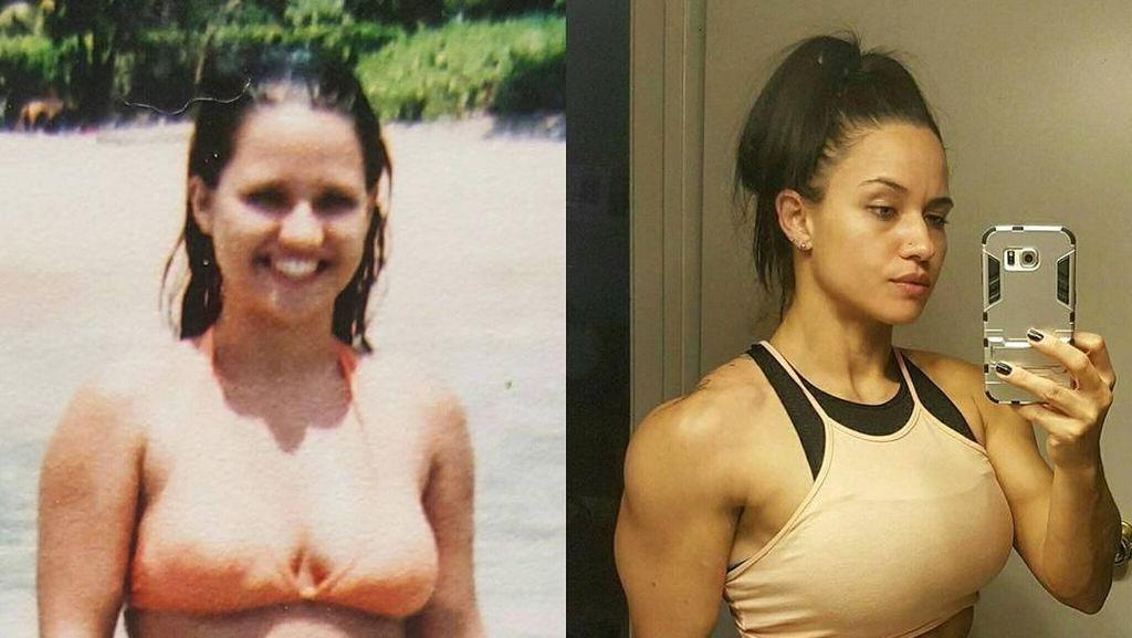 Transformasi Renee, Penggemar Cosplay Seksi yang Dulunya Gemuk