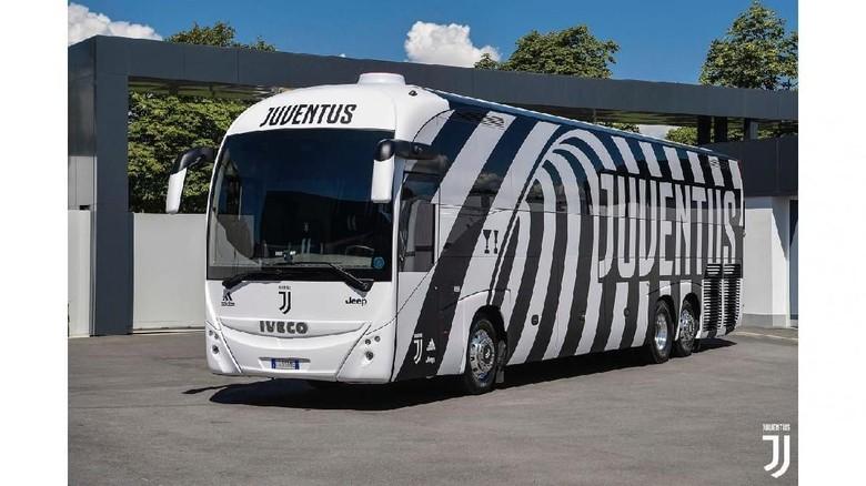 Bus baru Juventus (Foto: Juventus FC)