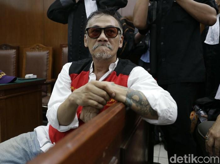 Tio Pakusadewo saat ditemui di PN Jakarta Selatan.