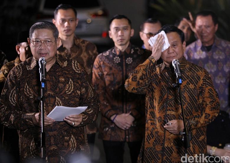SBY-Prabowo Kompak Singgung Kondisi BUMN Era Jokowi
