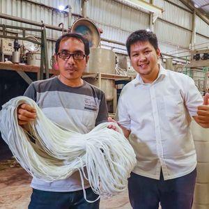 PGN Alirkan Gas Bumi ke Pabrik Tali Sepatu di Pasuruan