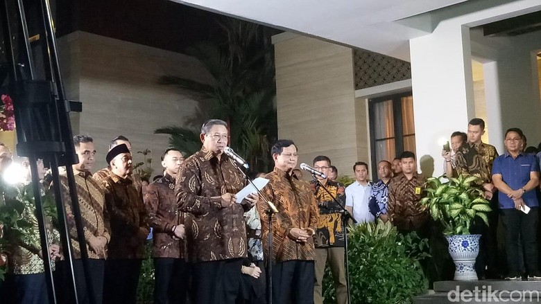 SBY: Banyak Rintangan dan Hambatan Berkoalisi dengan Jokowi