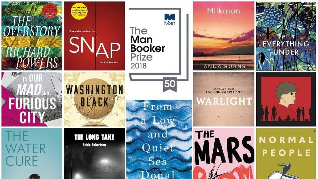 Kejutan Manis di Longlist Man Booker Prize, Ada Novel Grafis!