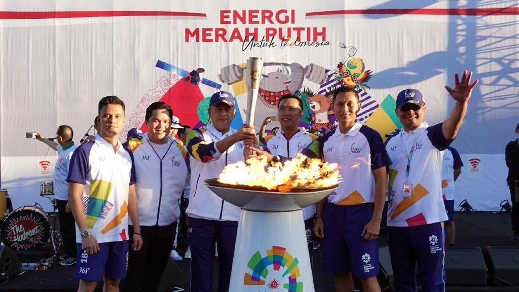 Giliran Obor Asian Games 2018 Keliling Bali