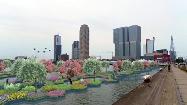 Ilustrasi pembangunan taman ke depannya (Recycled Park)