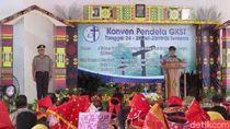 JK Hadiri Konven Pendeta Gereja dan Resmikan Masjid di Poso