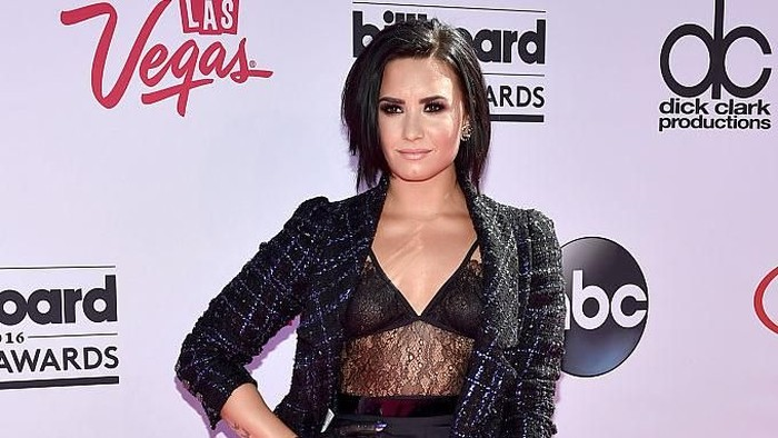 Penyanyi Demi Lovato. Foto: Getty Images