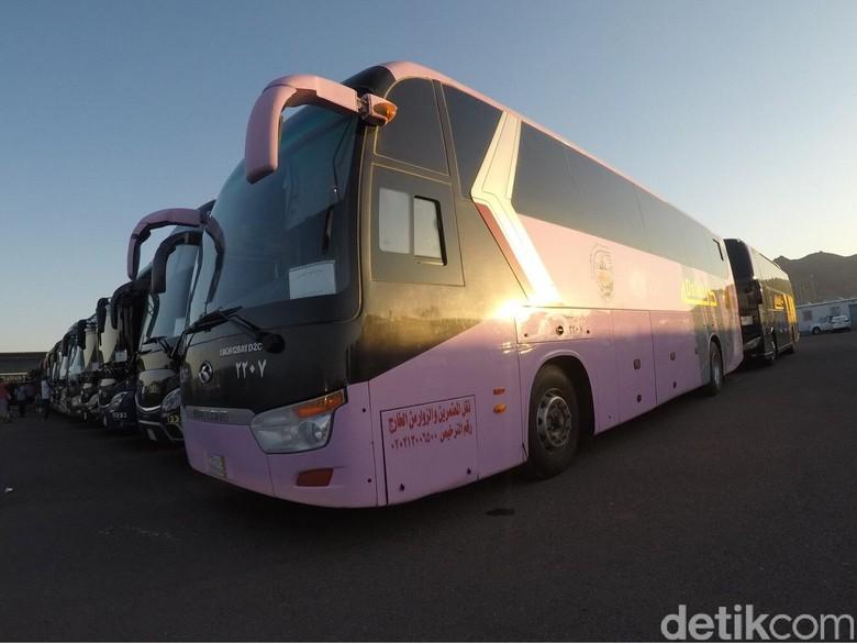 1.400 Bus Siap Bawa Jemaah Indonesia dari Madinah Menuju Mekah