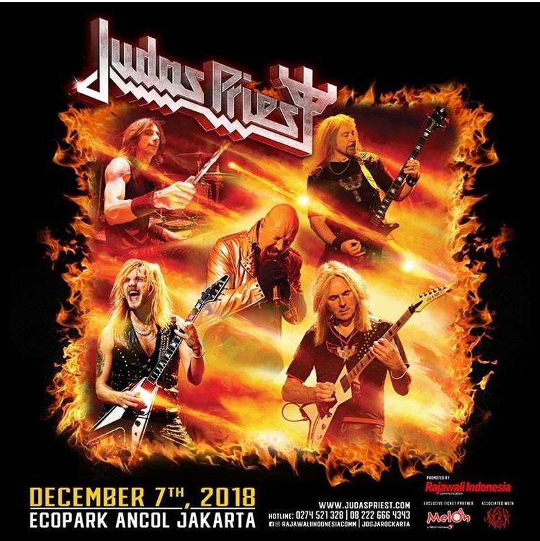 Judas Priest Siap Entak Jakarta 7 Desember 2018