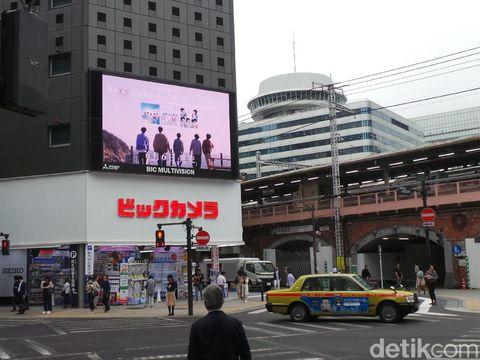 Pelican Crossing di Tokyo, epang.