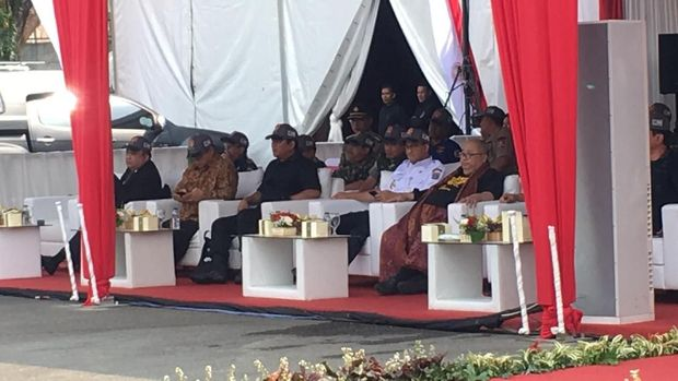 Panglima TNI dan Anies Hadiri Simulasi Antiteror Jelang Asian Games