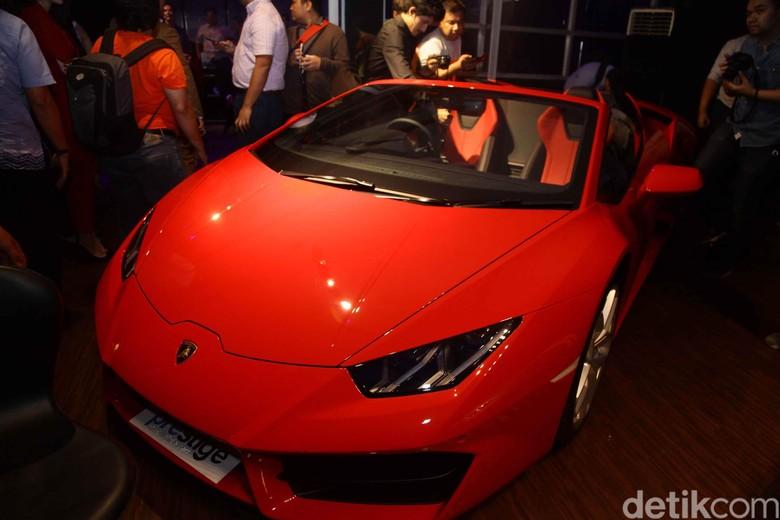 Mobil mewah Lamborghini Huracan yang diluncurkan Prestige Image Motorcars. Foto: Pradita Utama