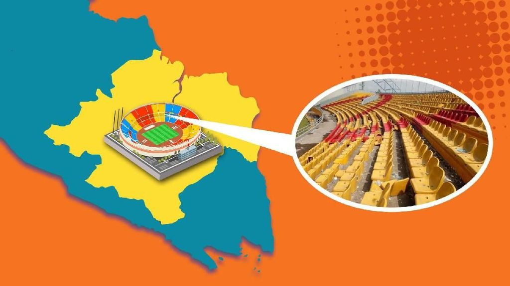 Fakta Kerusakan Stadion Jakabaring