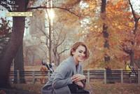Senyum Yanet Garcia di Central Park, taman paling terkenal di AS yang ada di New York (iamyanetgarcia/Instagram)