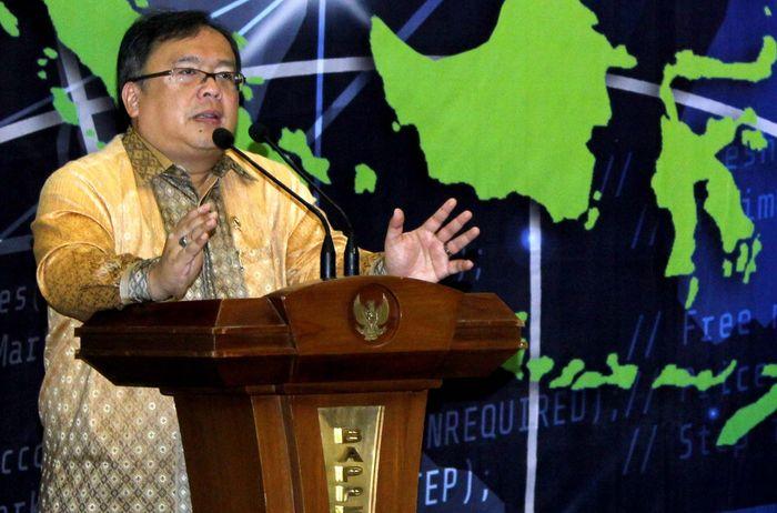 Menteri PPN/Kepala Bappenas Bambang Brodjonegoro hadir serta memberikan sambutan pada Pembukaan Roundtable High Level Discussion dengan tema Indonesia : Pusat Ekonomi Dunia Islam, di Kantor Kementerian Bappenas, Menteng, Jakarta, Rabu (25/07/2018). Pool/Bappenas.