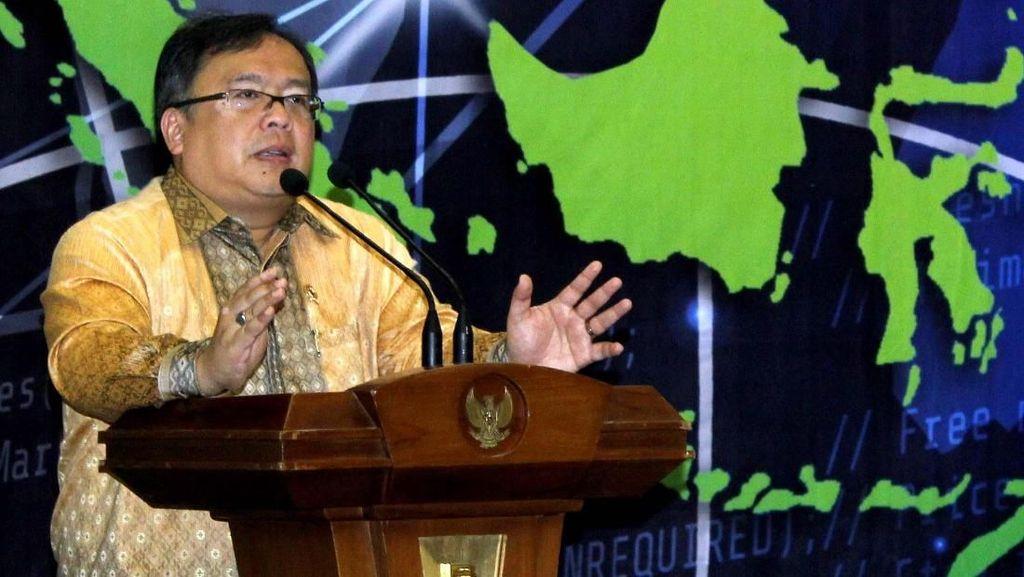 Bambang Brodjonegoro Hadiri Diskusi Indonesia : Pusat Ekonomi Islam Dunia