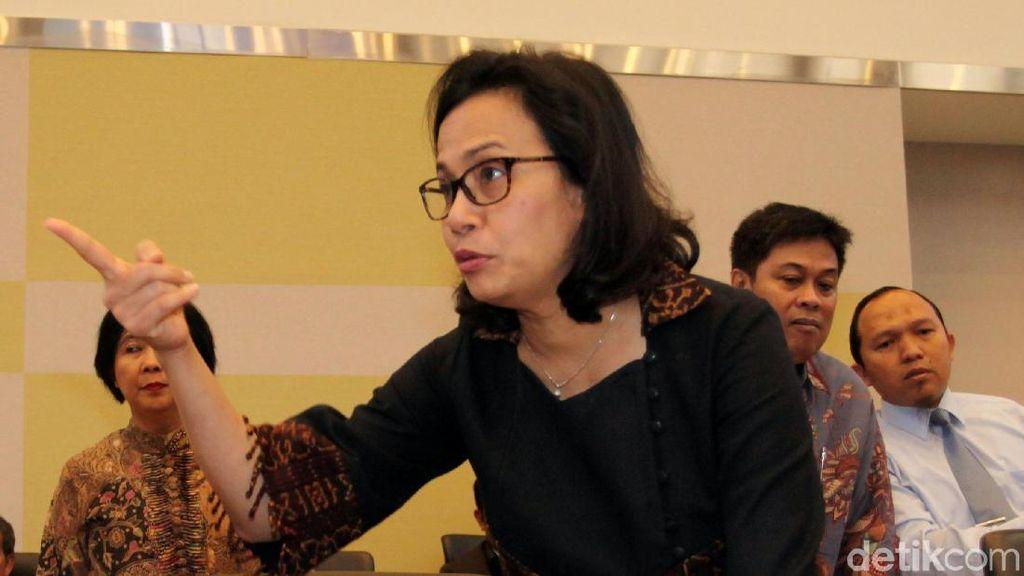Sri Mulyani Jawab Tudingan Anggota DPR soal Hoax Imbas Perang Dagang