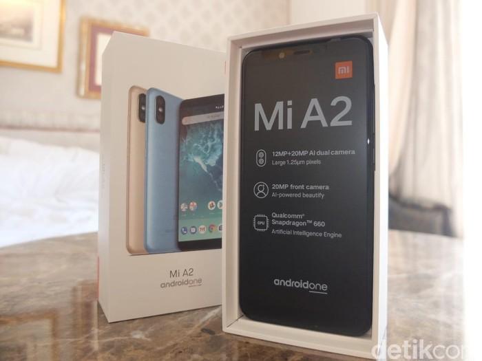 Xiaomi Mi A2. Foto: Dhani Irawan/Detikcom
