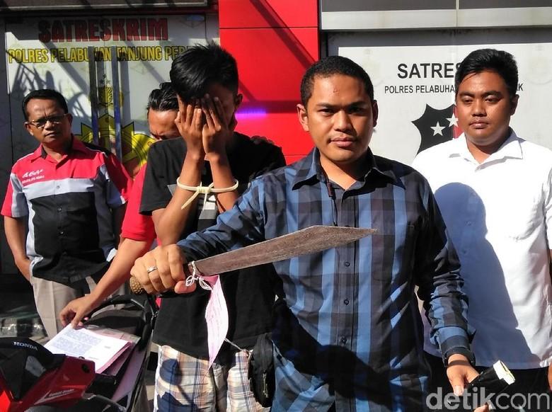Polisi Ringkus 1 Pelaku Begal Motor yang Bacok Korbannya