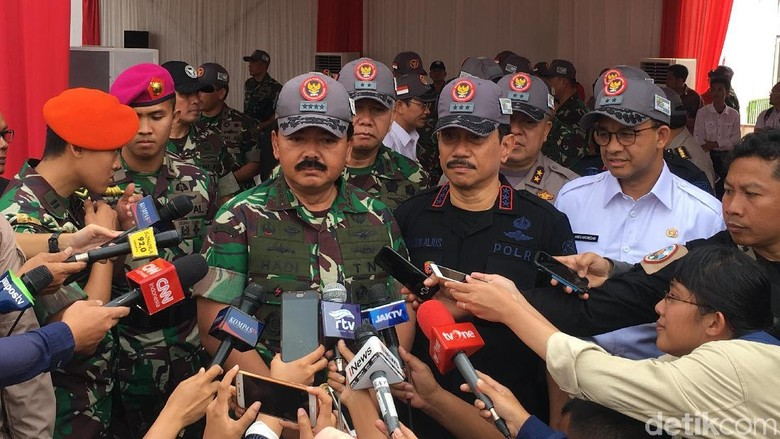 Panglima TNI Jamin Asian Games Aman dari Ancaman Terorisme