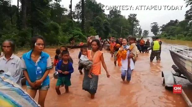 Derita Warga Laos: Kami Kehilangan Segalanya