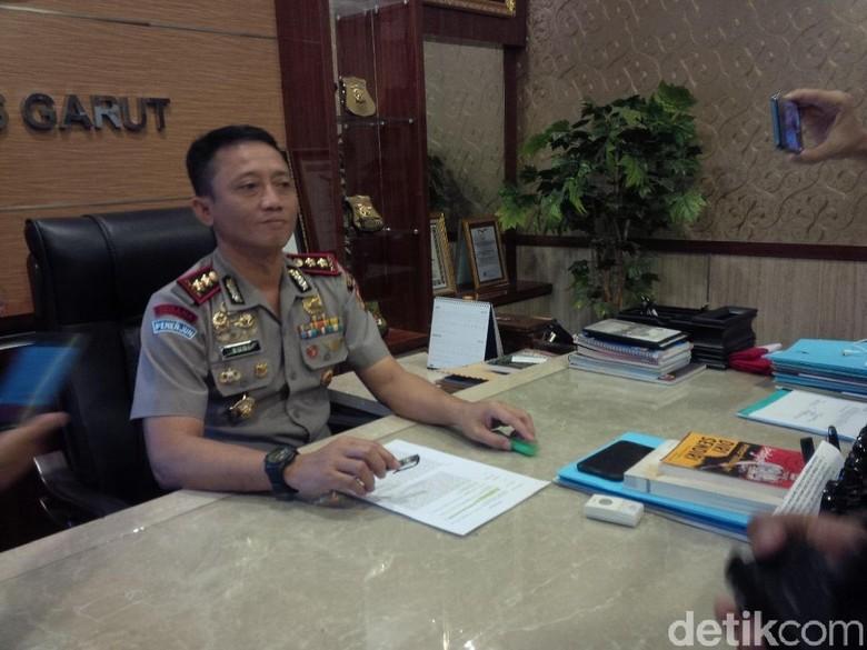 Polres Garut Amankan Guru yang Diduga Mengajak Ngebom KPU Pusat