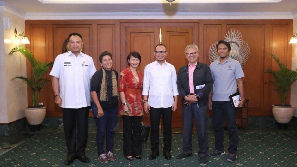 Kemnaker Dukung Indonesia Rope Challenge 2018