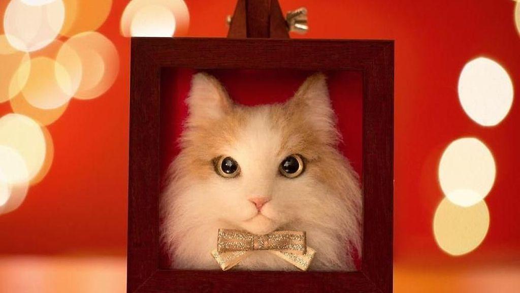 Keren! Seniman Jepang Ini Bisa Sulap Benang Wol Jadi Kucing