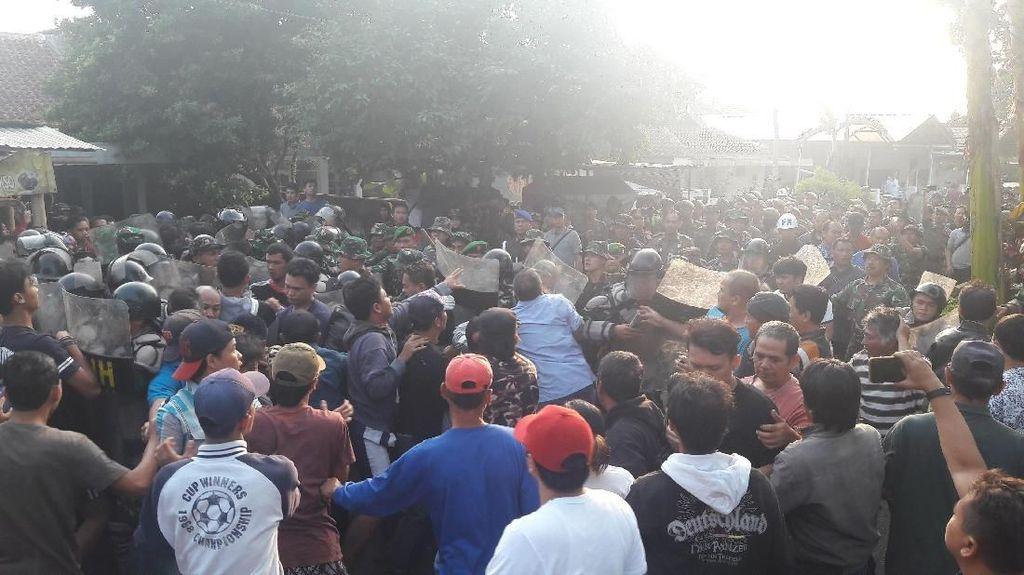 Penertiban Rumah Dinas TNI di Bogor Diwarnai Kericuhan