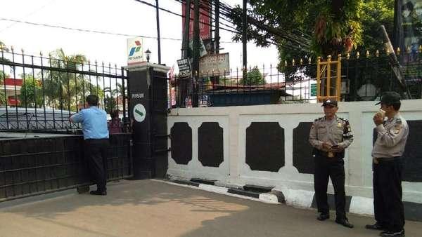 100 Polisi Amankan Sidang Tuntutan JAD di PN Jaksel